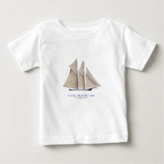 Camiseta Para Bebê Mágica 1870