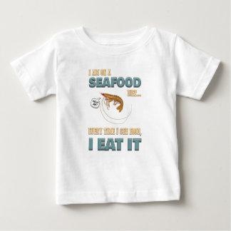 Camiseta Para Bebê Marisco do amor - parafuso que faz dieta - veja a