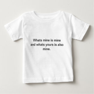 Camiseta Para Bebê Mina