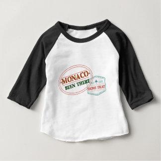 Camiseta Para Bebê Monaco feito lá isso