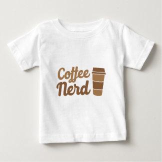 Camiseta Para Bebê nerd do café