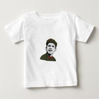 Camiseta Para Bebê Obama como o design de Che Guevara