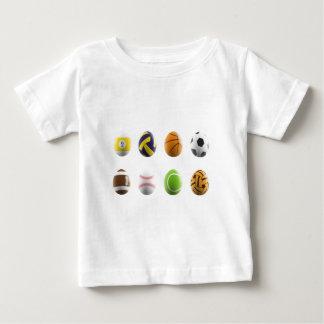 Camiseta Para Bebê ostenta ovos da páscoa