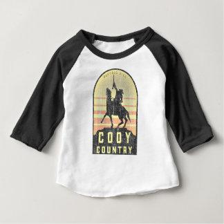 Camiseta Para Bebê País Wyoming de Cody