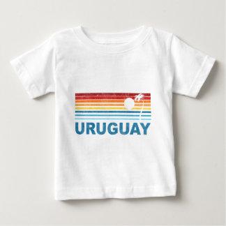 Camiseta Para Bebê Palmeira Uruguai