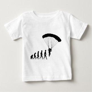 Camiseta Para Bebê Pára-quedismo Skydiver Skydiver avião
