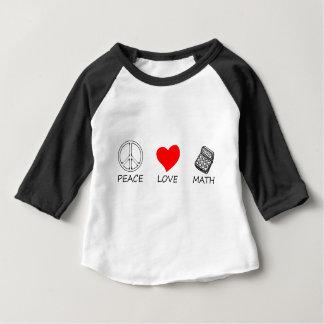 Camiseta Para Bebê paz love5