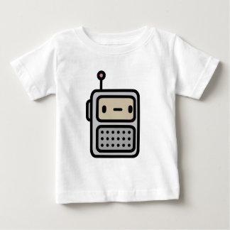 Camiseta Para Bebê Rádio indiferente