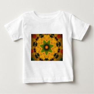 Camiseta Para Bebê Raio amarelo