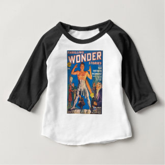 Camiseta Para Bebê Raio da estátua