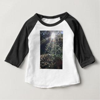 Camiseta Para Bebê Raios do líquene
