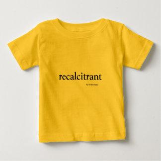 Camiseta Para Bebê Resistente à autoridade