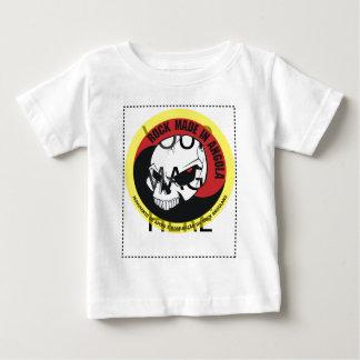 Camiseta Para Bebê Rock made in Angola