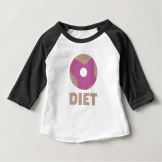 Camiseta Para Bebê Rosquinha para as dietas Z958r