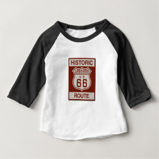 Camiseta Para Bebê Rota 66 de Líbano