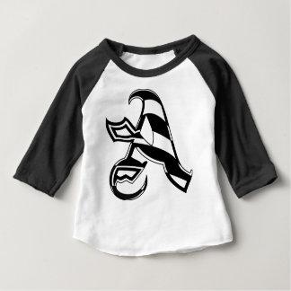 Camiseta Para Bebê Rotule um design