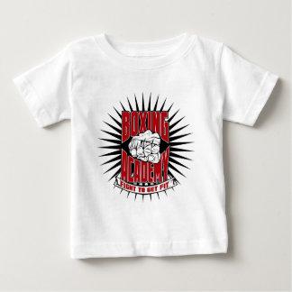 Camiseta Para Bebê Roupa da academia do encaixotamento