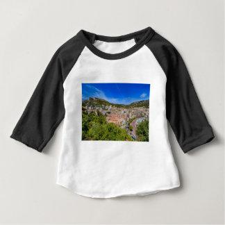 Camiseta Para Bebê Skyline de Monaco