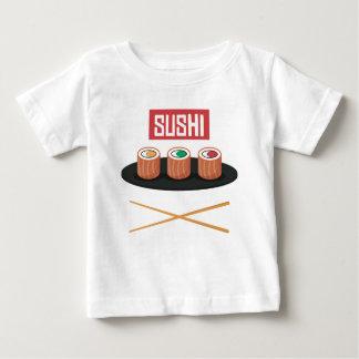 Camiseta Para Bebê Sushi
