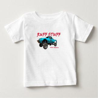 Camiseta Para Bebê T da criança do material do pavão-do-mar