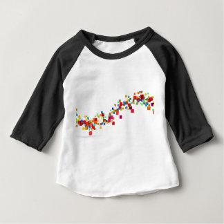 Camiseta Para Bebê Tecnologia de Blockchain como um negócio criativo