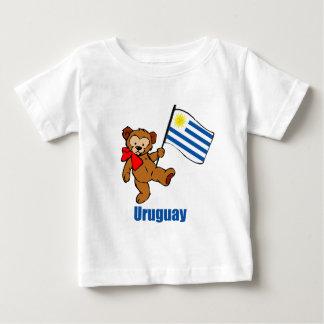 Camiseta Para Bebê Urso de ursinho de Uruguai
