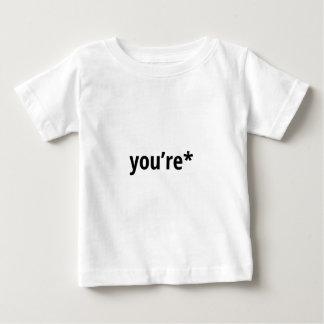 Camiseta Para Bebê você é