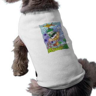 Camiseta Pássaro Funky do macaco e da banana