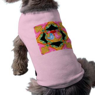 Camiseta Pássaros de Kissy dos namorados Sparkling