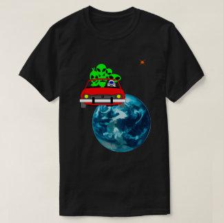 Camiseta Passeio a original engraçado do selfie de Marte