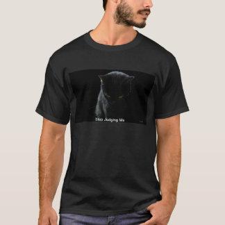 Camiseta Pensamento do gato preto