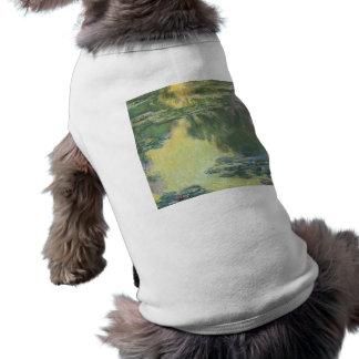 Camiseta Pintura impressionista dos lírios de água de