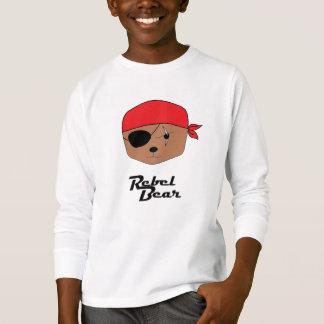Camiseta Pirata rebelde do urso