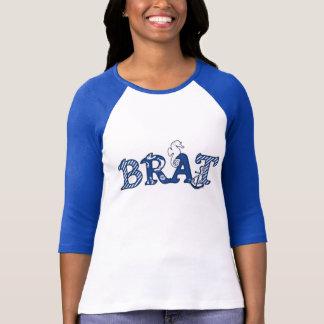 Camiseta Pirralho náutico feminino, âncora do cavalo