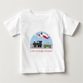 Camiseta Planos, Trains&Automobiles