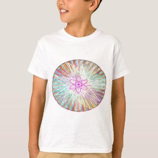 Camiseta Poder da alma: Design artístico da energia solar