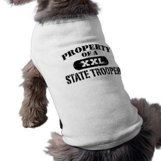 Camiseta Polícia estadual