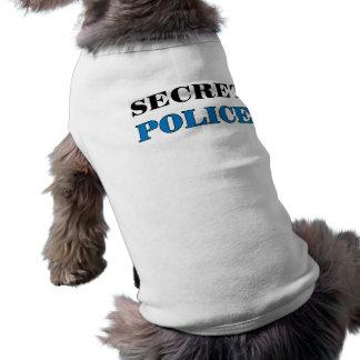 Camiseta Polícia secreta 1 - t-shirt do cão