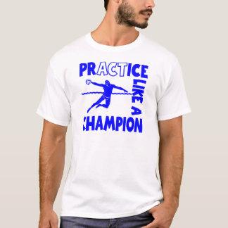Camiseta Pólo aquático da prática