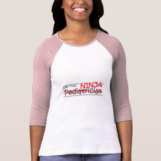 Camiseta Posição Ninja - pediatra