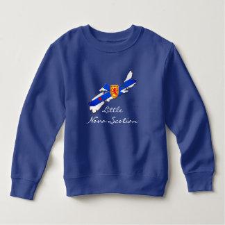 Camiseta Pouca camisola da criança de Scotian Nova Escócia