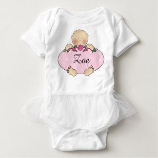 Camiseta Presentes personalizados do bebê de Zoe