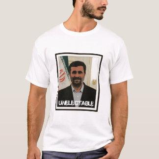 Camiseta Presidente do iraniano de Mahmoud Ahmadinejad