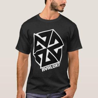 Camiseta Preto de Inspiracon no branco