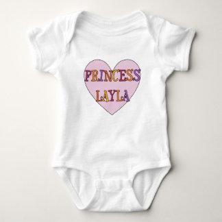Camiseta Princesa Layla Bebê Equipamento