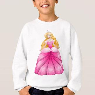 Camiseta Princesa loura Cor-de-rosa Pingamento