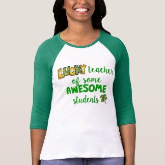Camiseta Professor afortunado