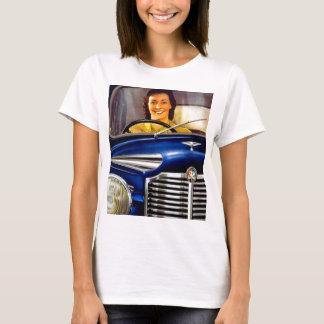 Camiseta Propaganda dos motores de Vauxhall do vintage