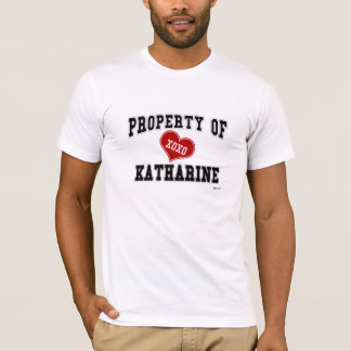 Camiseta Propriedade de Katharine
