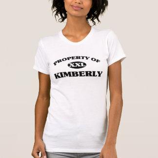 Camiseta Propriedade de KIMBERLY